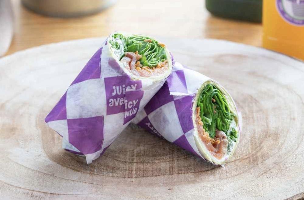 Wrap Salmon Crunch