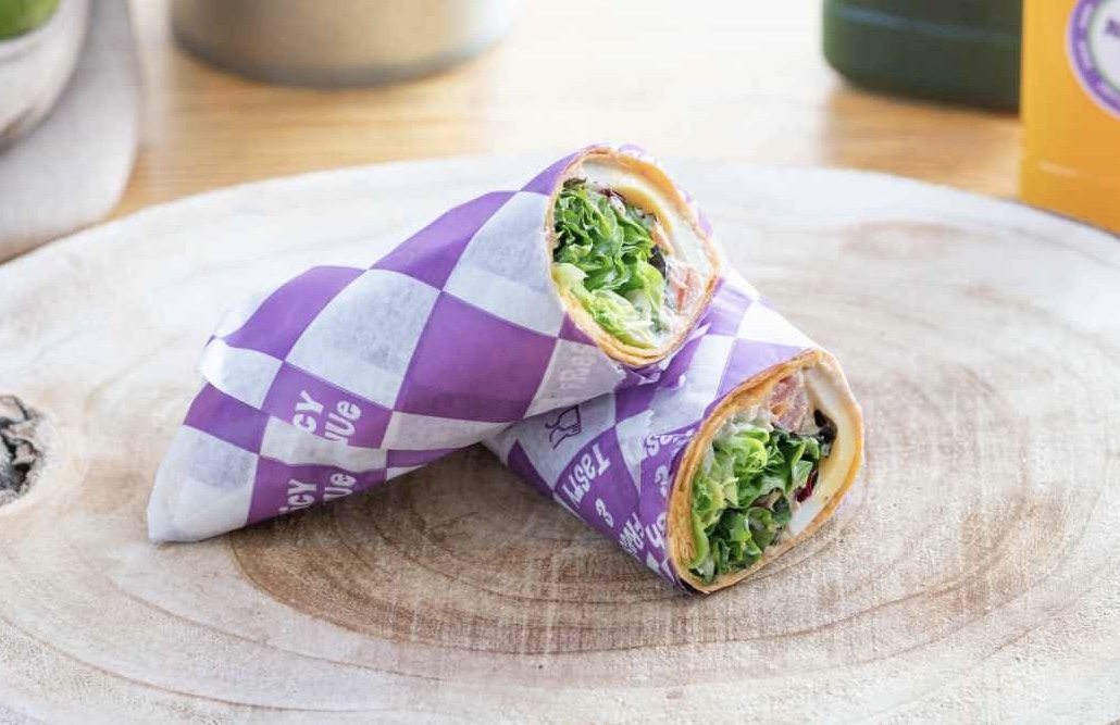 Wrap Tuna Melt